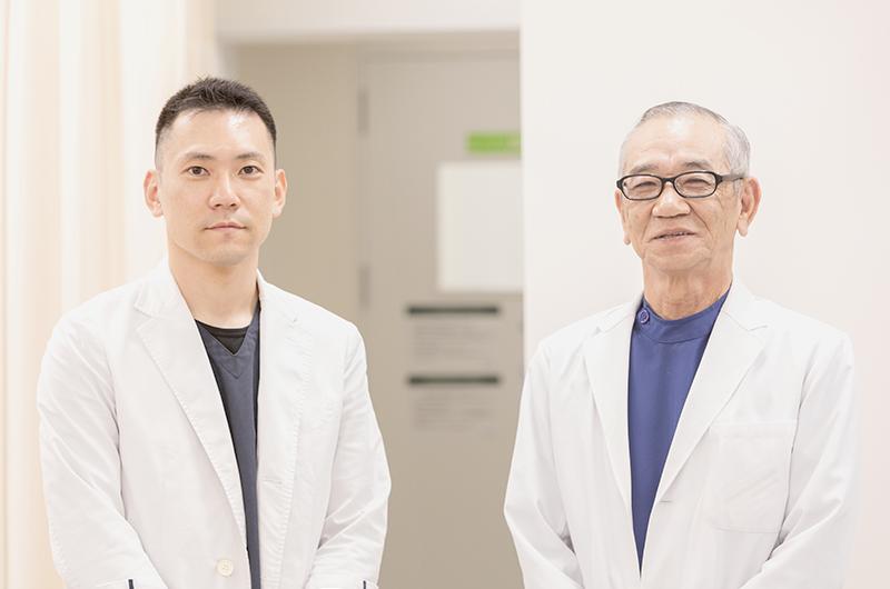 親子2名の医師によるスムーズな連携